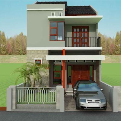 desain rumah minimalis dua lantai