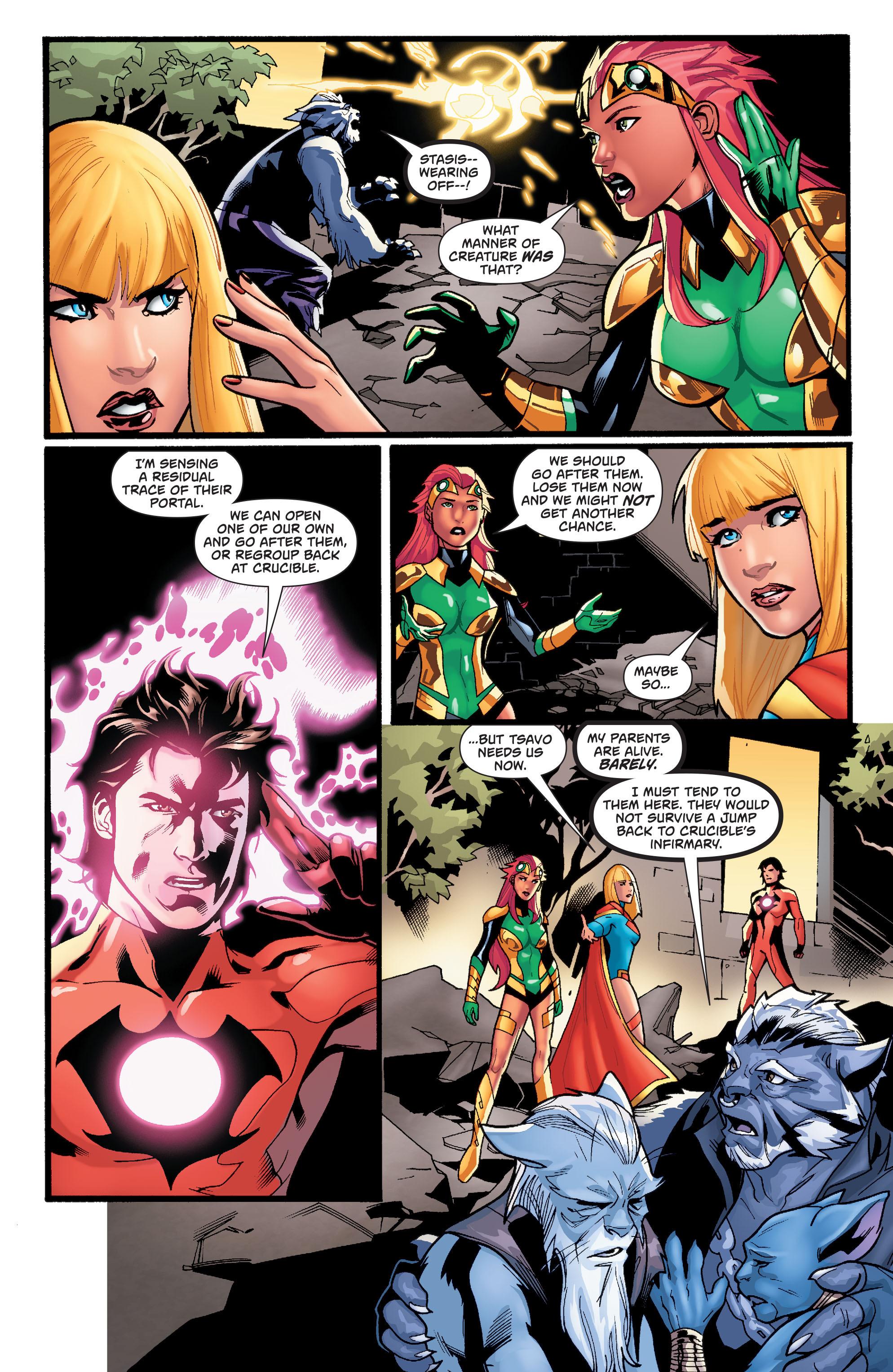 Supergirl (2011) Issue #38 #40 - English 8