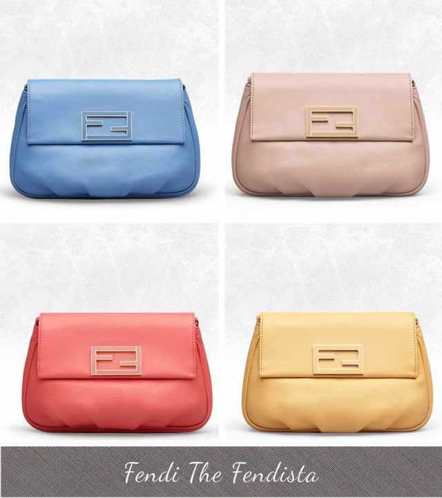 Fendi The Fendista Shoulder Bag Spring Summer 2014