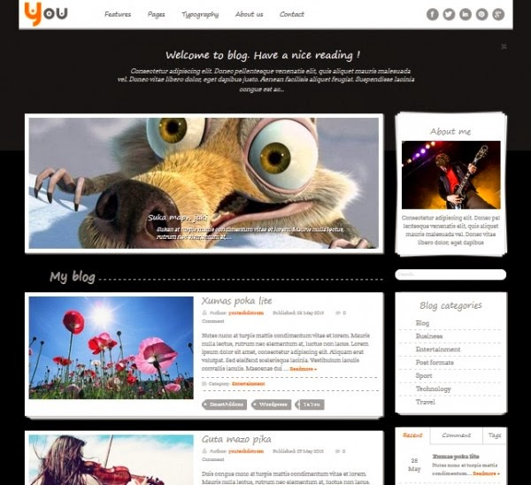 SW You – Free responsive WordPress Theme