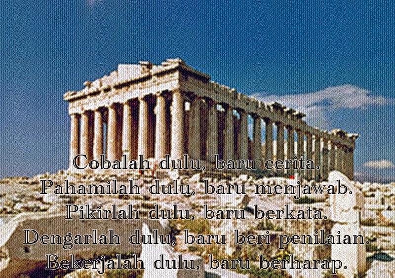 Kumpulan Kata Mutiara Para Tokoh Yunani