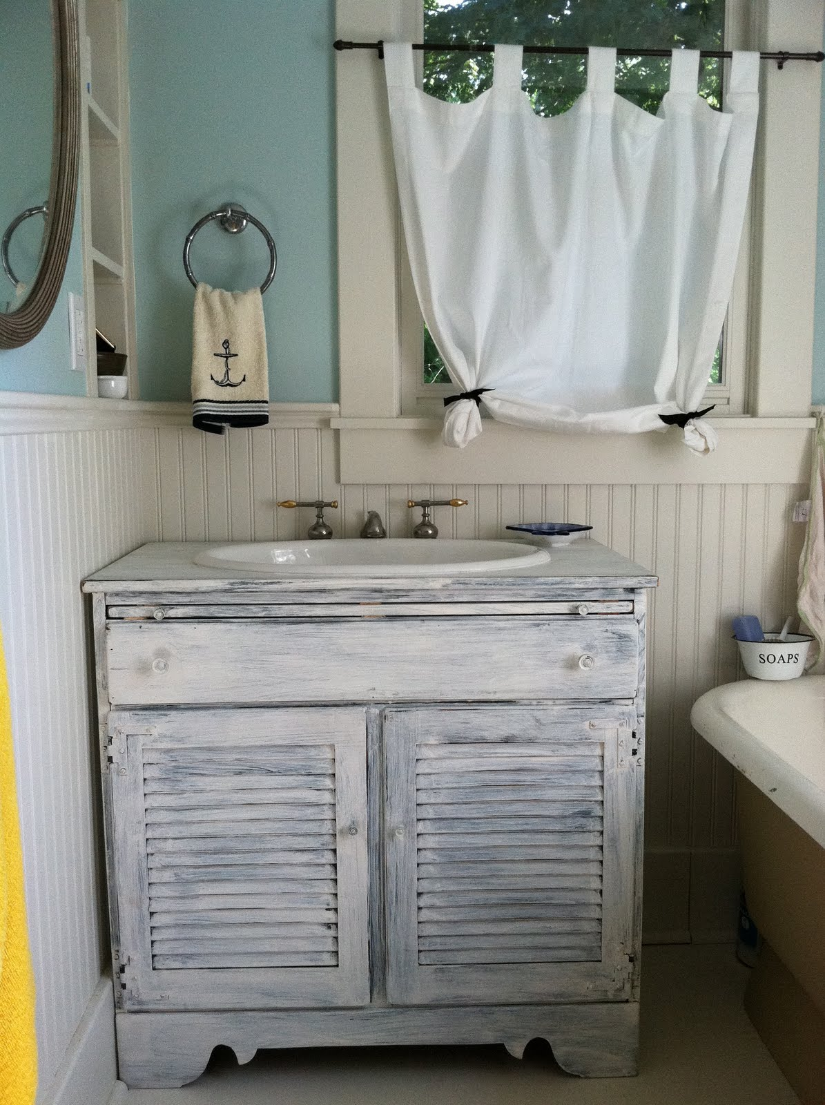 Nautical Themed Bathroom ~ dact.us