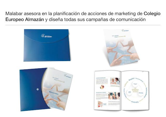 Malabar Diseña y prepara la nueva herramienta de Captación del Colegio Europeo Almazán.