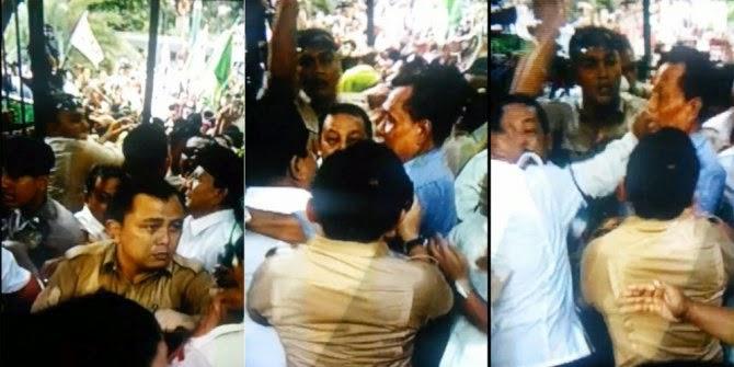 Heboh Video Prabowo Memukuli Orang di KPU