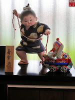 博多人形 お稚児さん