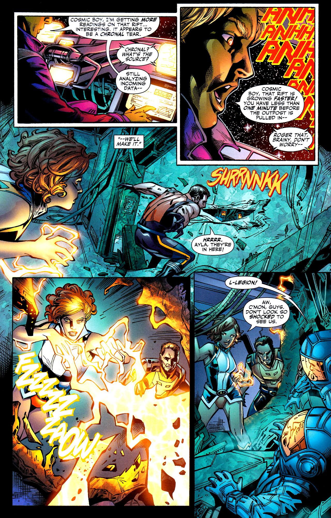 Read online Adventure Comics (2009) comic -  Issue #8 - 9