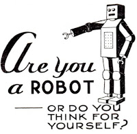 sei un robot?