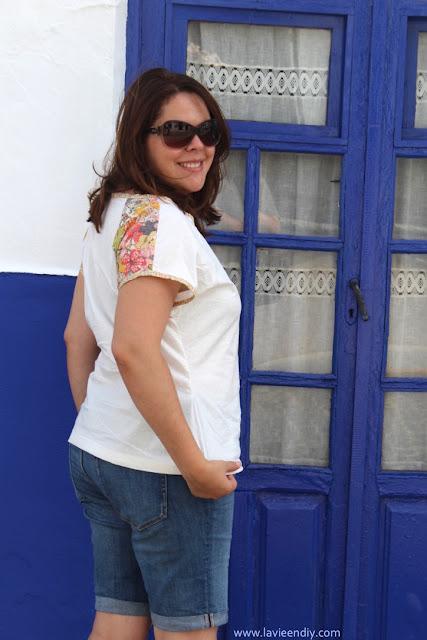 belcarra blouse sewaholic by lavieendiy