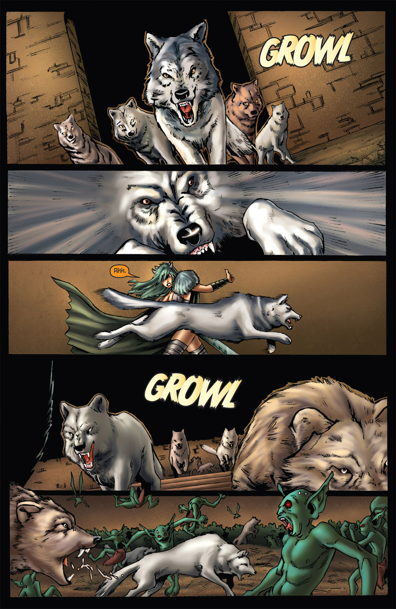 Grimm Fairy Tales (2005) Issue #56 #59 - English 6