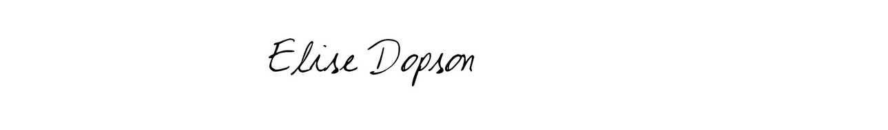 Elise Dopson | A Beauty & Fashion Blog
