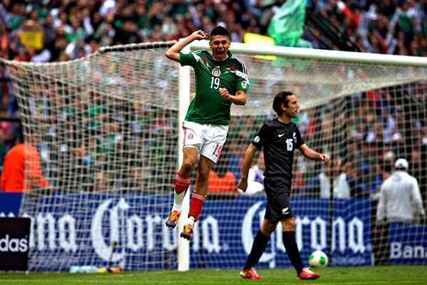 Nueva Zelanda vs México En Vivo