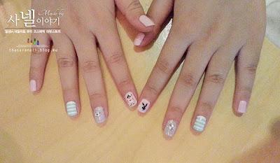 Card nail arts