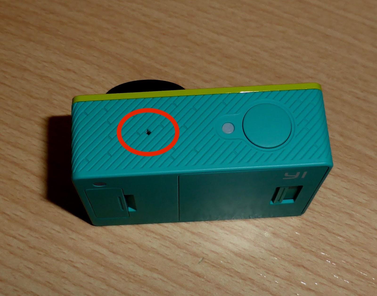 Jfulgen blog xiaomi yi sustituir microfono for Microfono esterno xiaomi yi