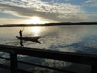 Lagoa Mundaú - Por do Sol