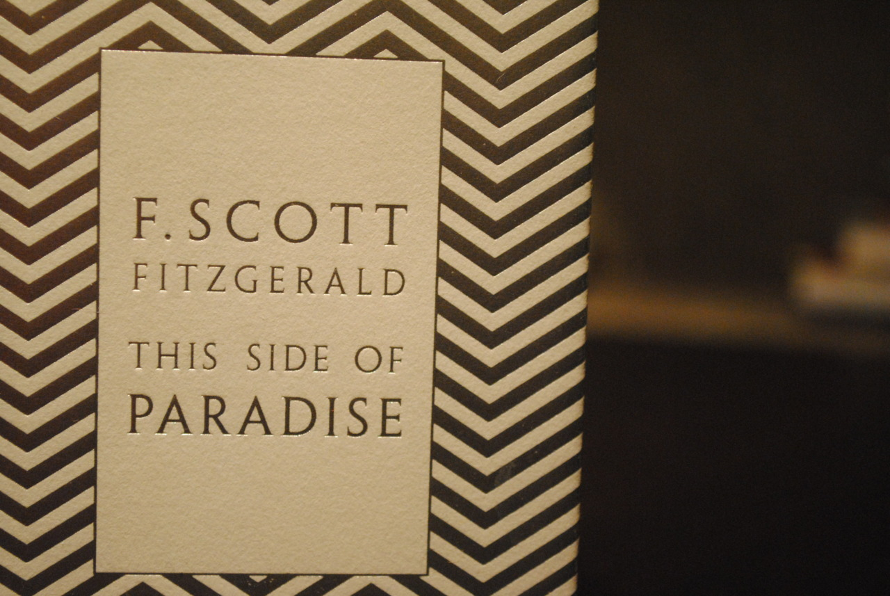 "an analysis of the narration and narrator of f scott fitzgeralds this side of paradise In the paper ""this side of paradise by f scott fitzgerald"" the author analyzes the novel by f scott fitzgerald the novel is interesting."