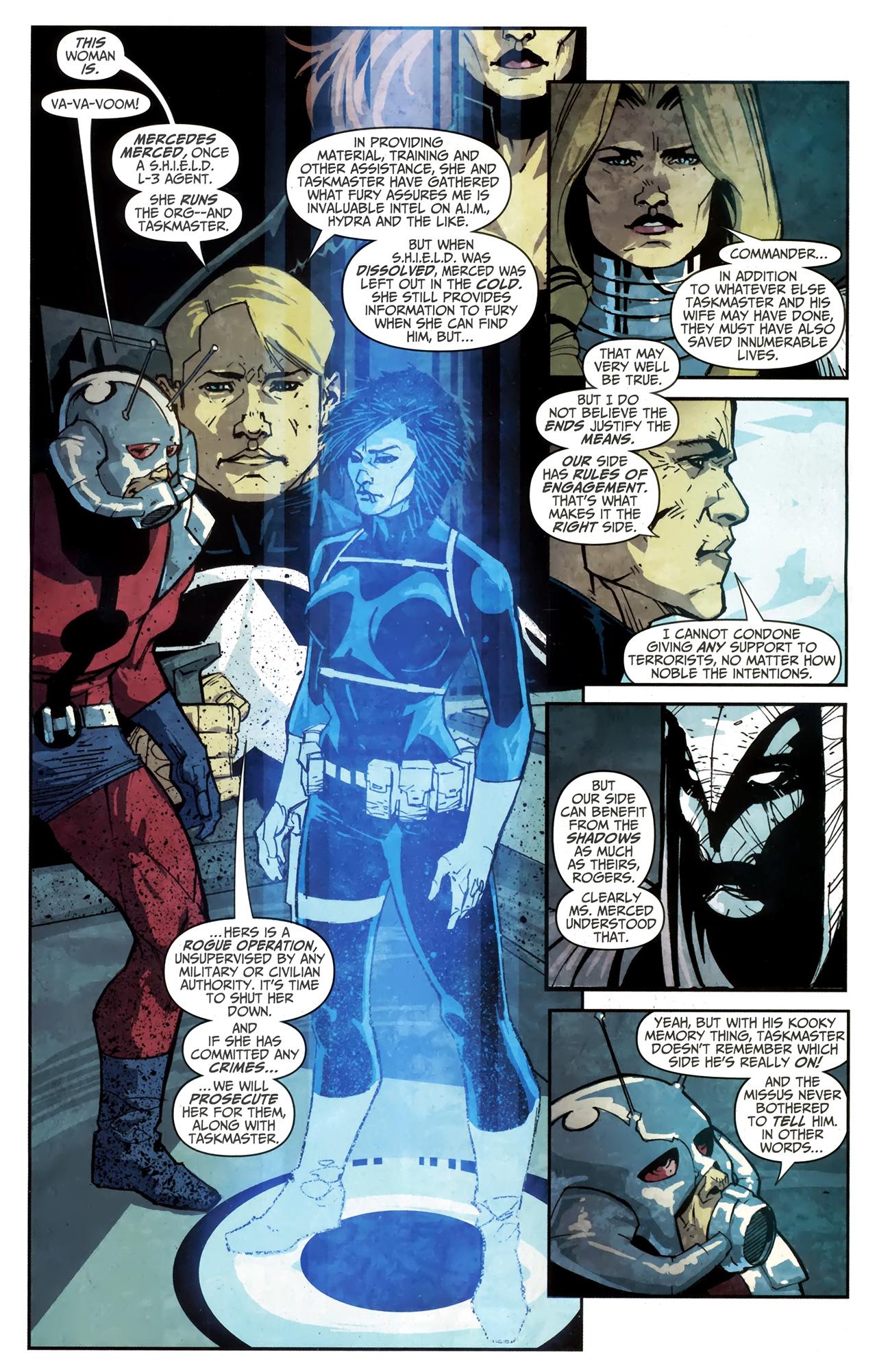 Read online Taskmaster (2010) comic -  Issue #4 - 4