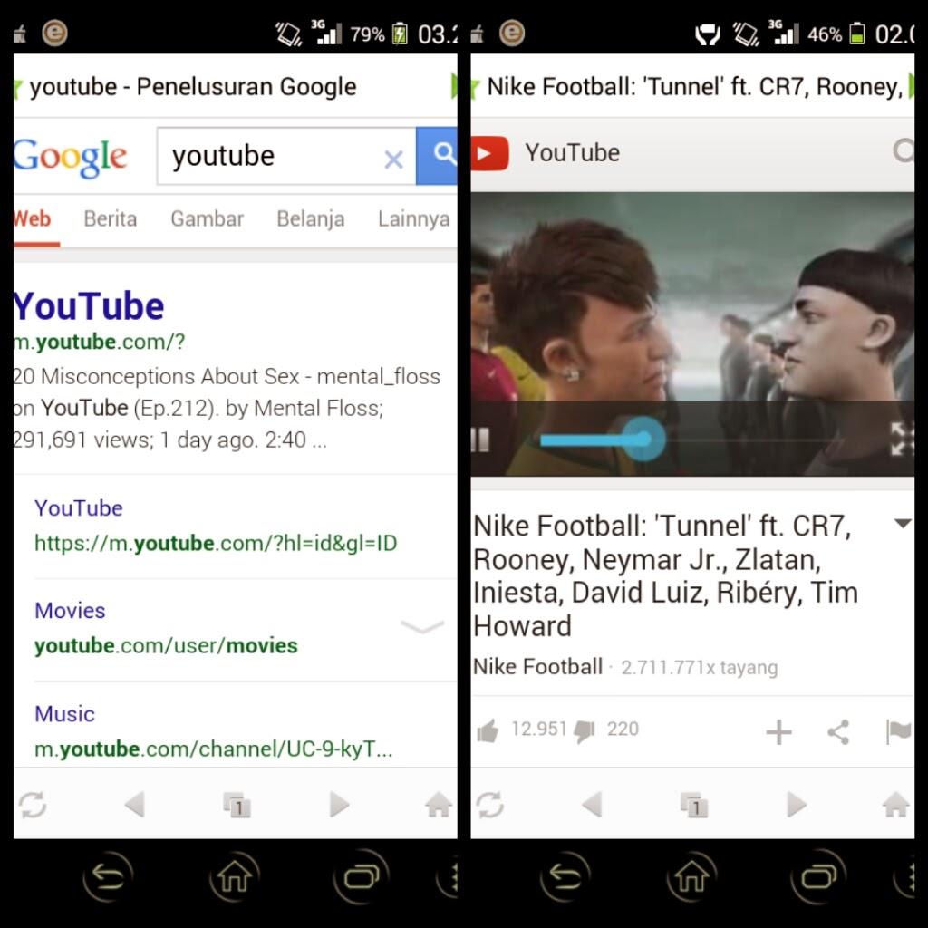 Browser Android Dengan Ukuran Terkecil (Daufybhk.blogspot.com)