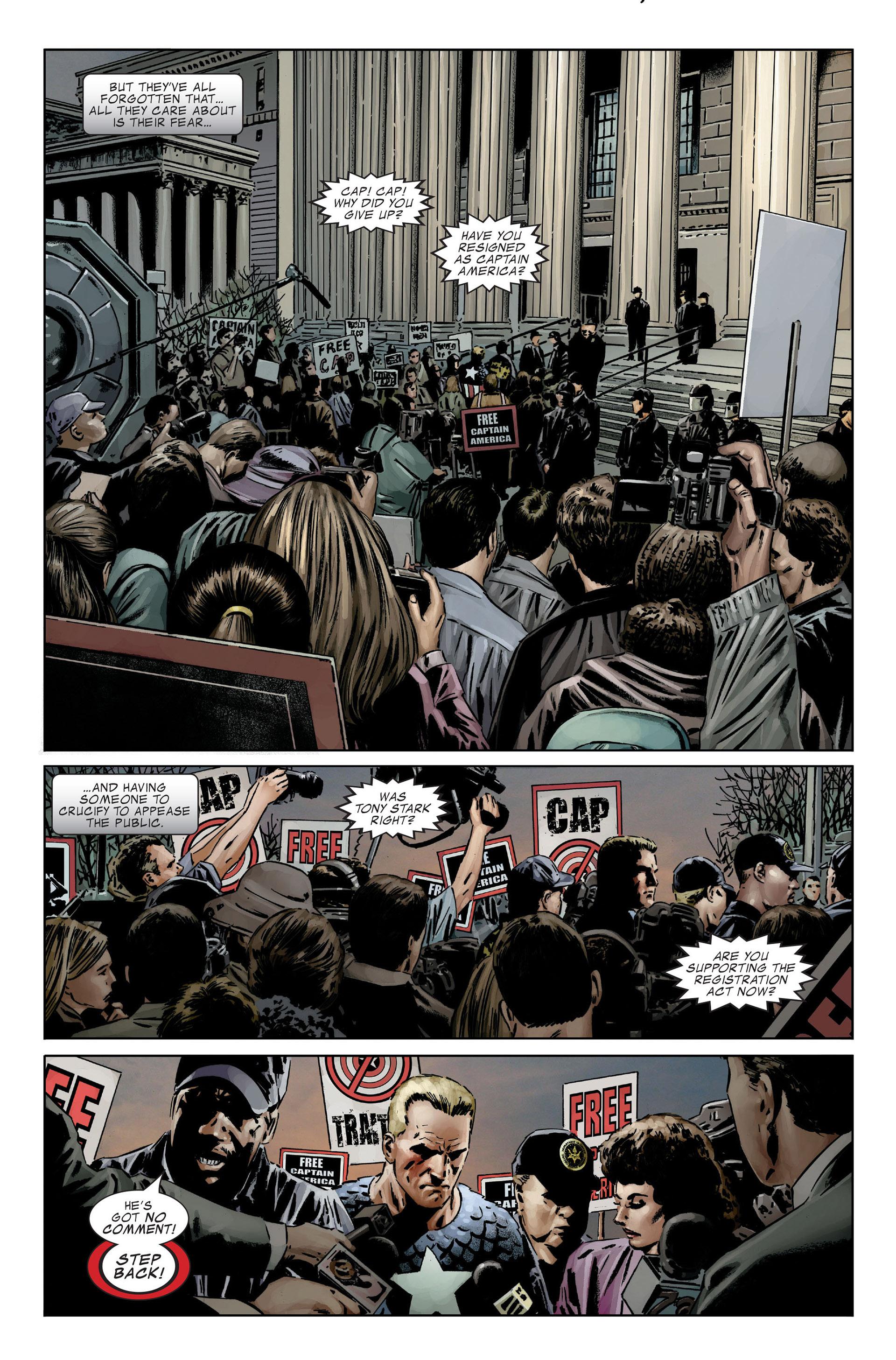 Captain America (2005) Issue #25 #25 - English 14