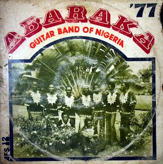 Abaraka Guitar Band of Nigeria - '77,Melody Sound Stores / Feathers 1977