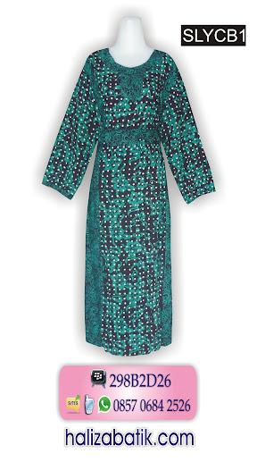 085706842526 INDOSAT, Baju Batik Muslimah, Gambar Baju Batik Wanita, Model Baju Batik Wanita, SLYCB1, http://grosirbatik-pekalongan.com/longdress-slycb1/