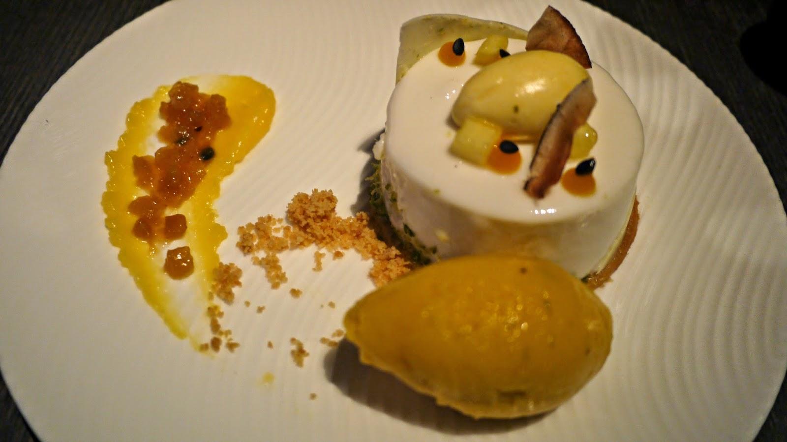 yauatcha coconut mousse dessert