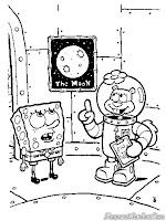 SpongeBob Dan Sandy Ingin Pergi Ke Bulan