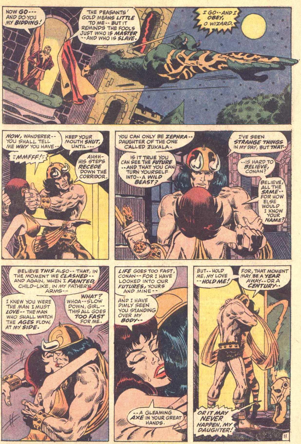 Conan the Barbarian (1970) Issue #5 #17 - English 12
