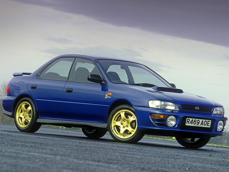 Subaru Impreza I, 1st, 1-gen, zdjęcia, japoński sportowy samochód, kultowy, 日本車, スポーツカー, スバル, edition version Terzo