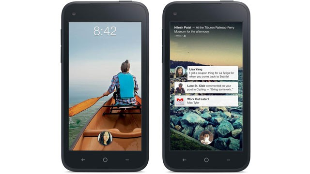 Facebook for Android home feature update