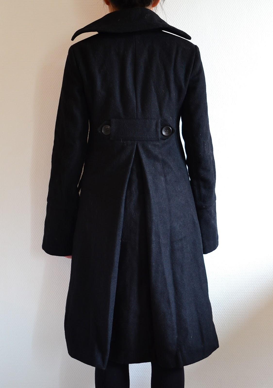 Manteau comptoir des cotonniers le dressing de victoria - Manteau comptoir des cotonniers hiver 2012 ...