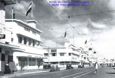 Hotel Oranye di Surabaya tahun 1911.