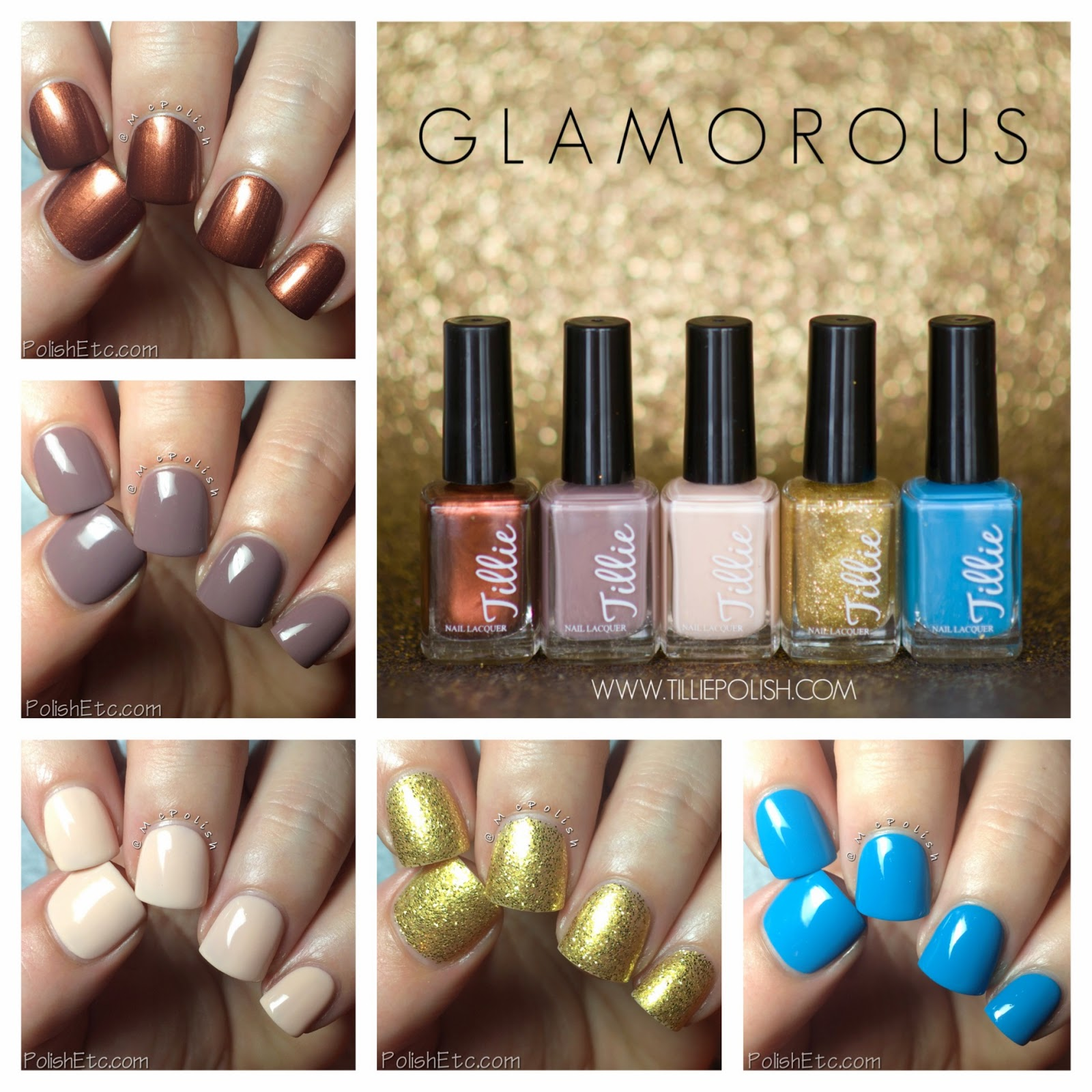 Tillie Polish Glamorous Collection - McPolish
