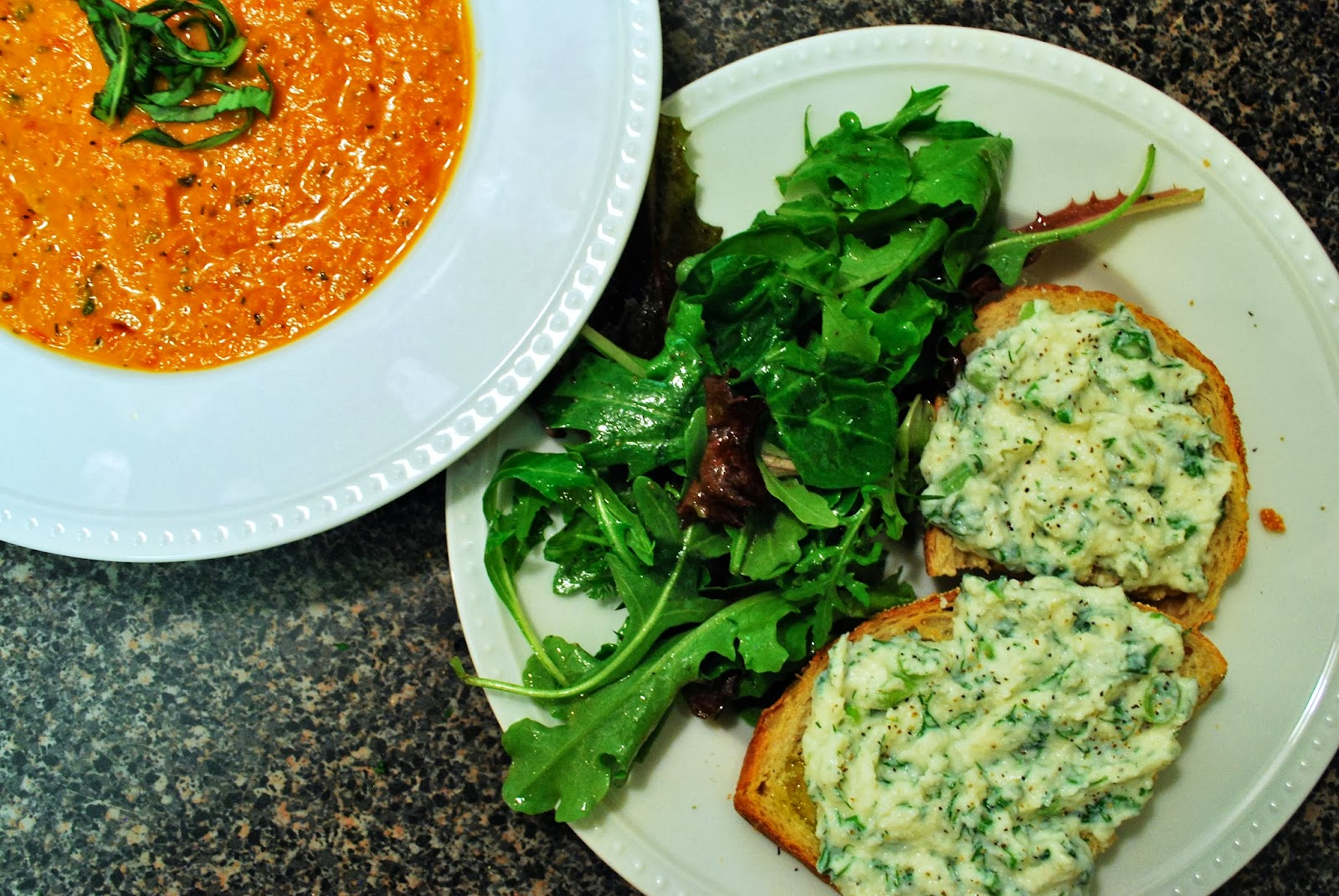 tomato soup with ricotta cheese and basil recipes dishmaps tomato soup ...