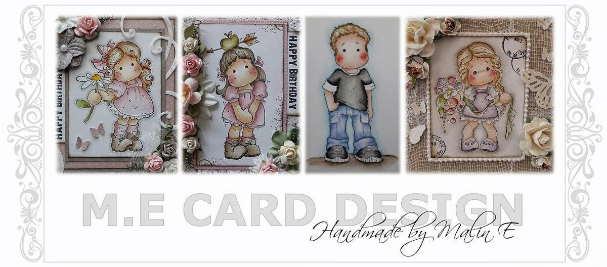 M.E Card Design