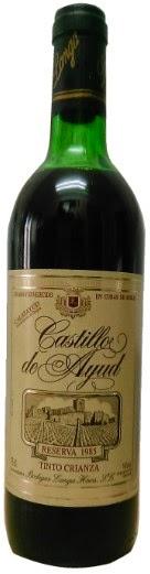 Todo el vino castillo de ayud reserva 1985 do calatayud - Castillo de ayud calatayud ...