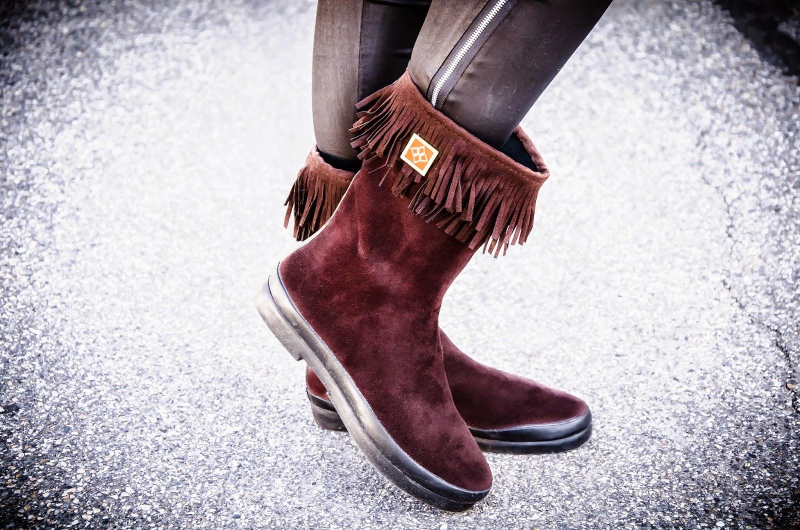 dav boots, Däv Sydney Mid Boots, Däv boots, brown boots, fringe boots, boots review, dav review, Däv review, cute, love,