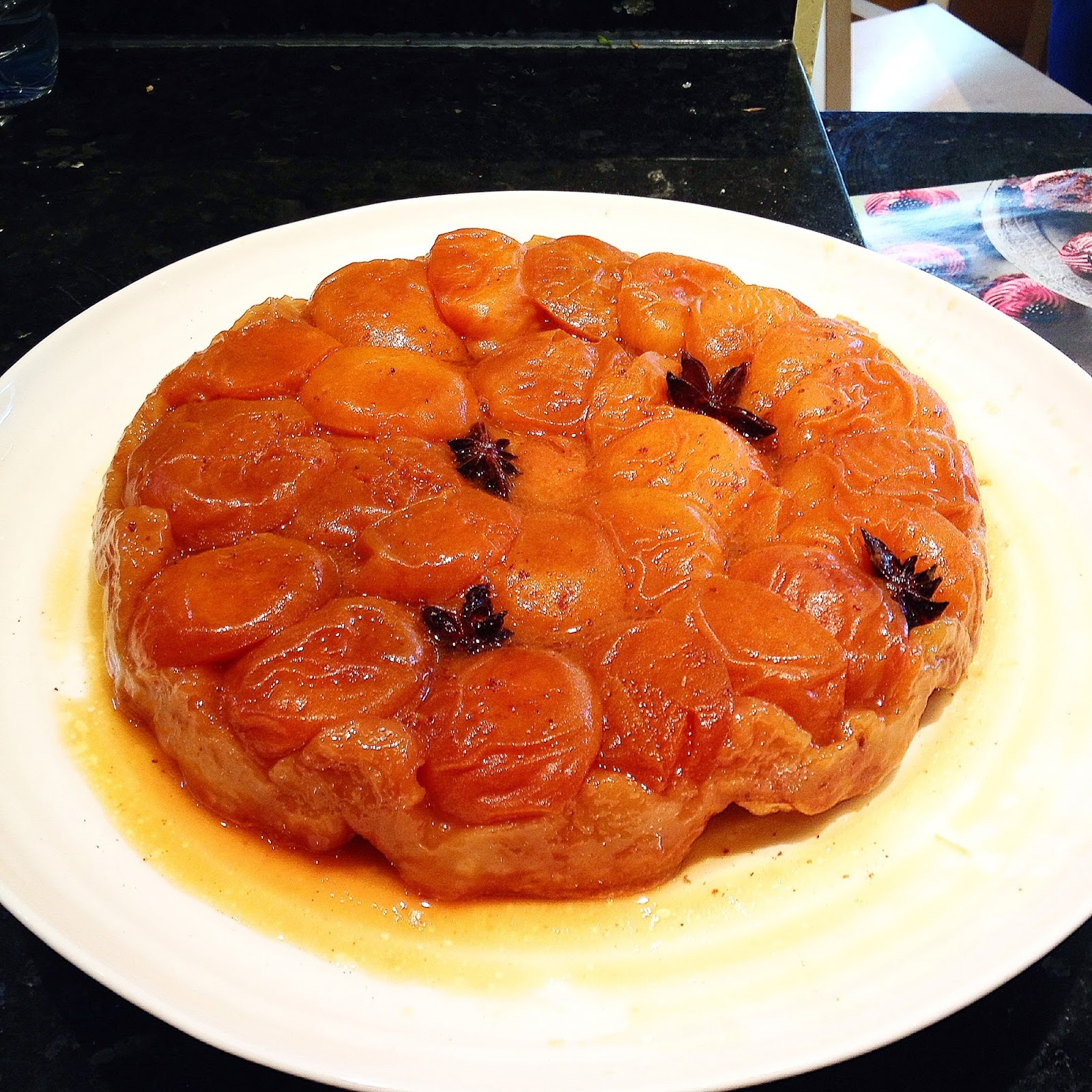 Jane And Judy In The Kitchen: Apricot Tart Tatin