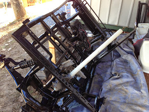 The frame after Tim painted it.
