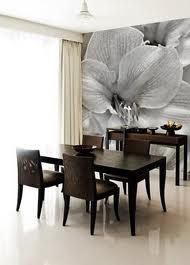 New home interior design dining room wallpaper ideas for Wallpaper feature wall ideas dining room