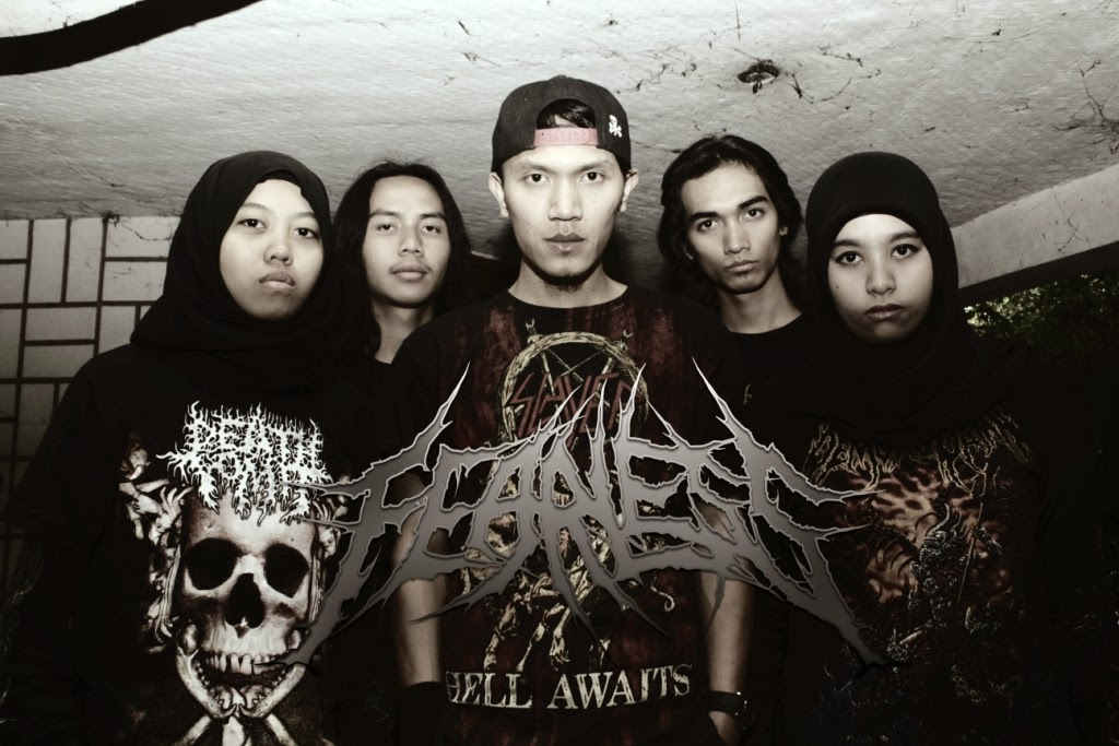 Fearless Band Death Metal with Female Vocal Cimahi Bandung Foto Personil Logo Wallpaper Kherin Mulyadini Erin Gandasasmita