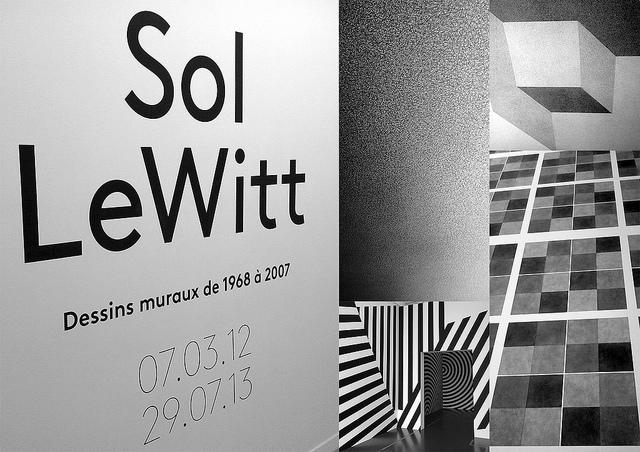 Exposition Sol Lewitt au centre Pompidou de Metz