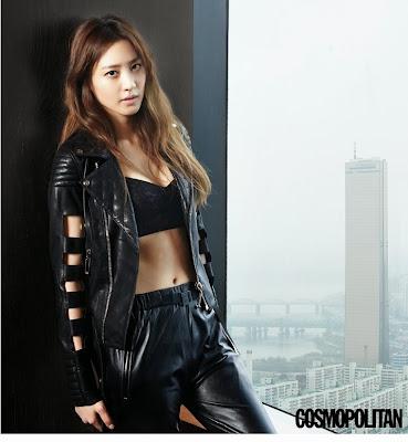 Kim Soo Hyun - Cosmopolitan Magazine May Issue 2015