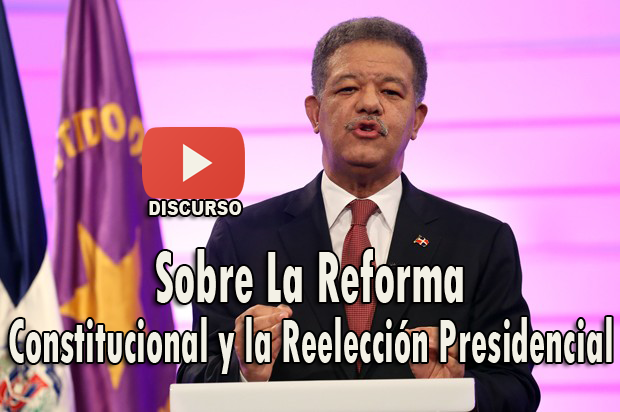 Discurso Expresidente Leonel Fernández