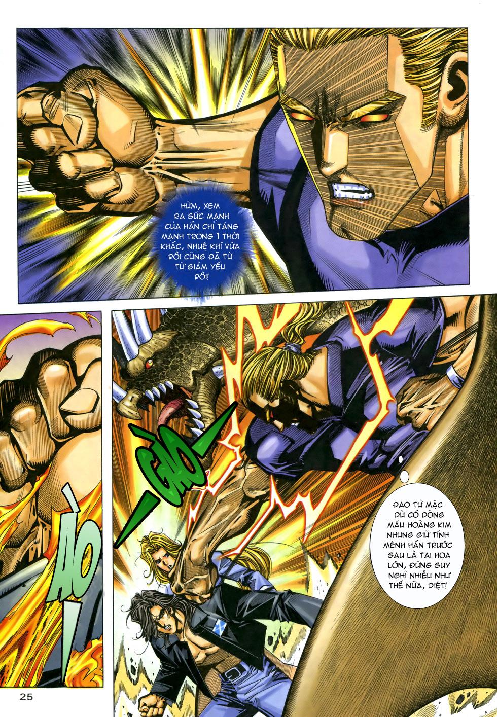 X Bạo Tộc chap 33 - Trang 25