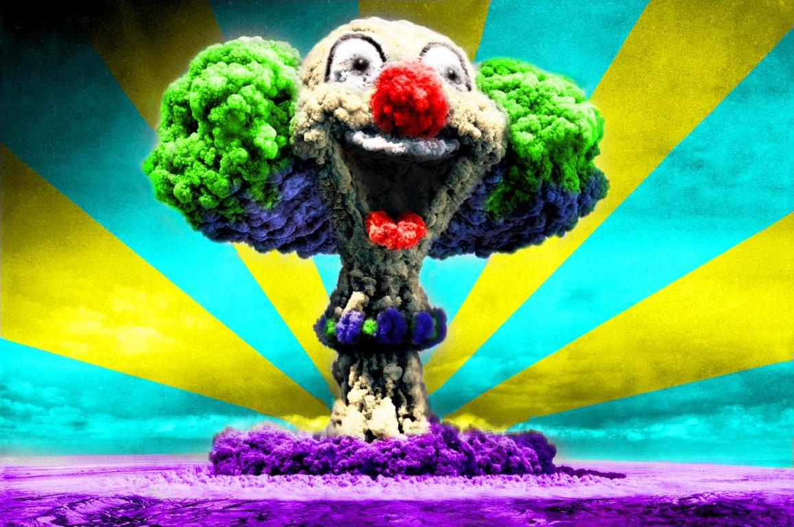 wallpaper: Wallpaper Nuclear Clown