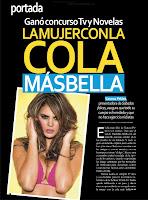 Fotos: Vaneza Pelaez Revista TV Y Novelas Agosto2012