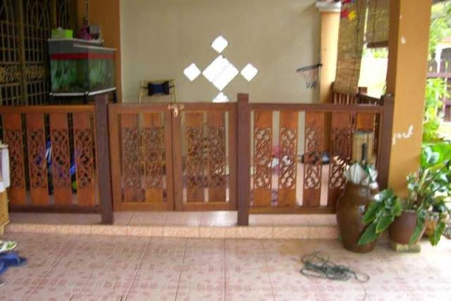 Gambar pagar kayu cantik