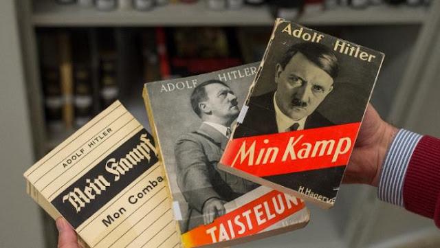 """Promotor sem ter nada para fazer pede busca e apreensão de """"Mein Kampf"""""""