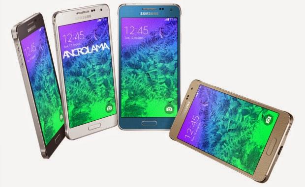 Samsung Galaxy Alpha İçin Ön Siparişler