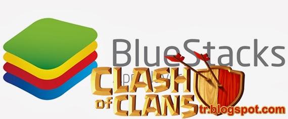 Clash Of Clans Oyununu Bilgisayarda Oynama Yöntemi 2014